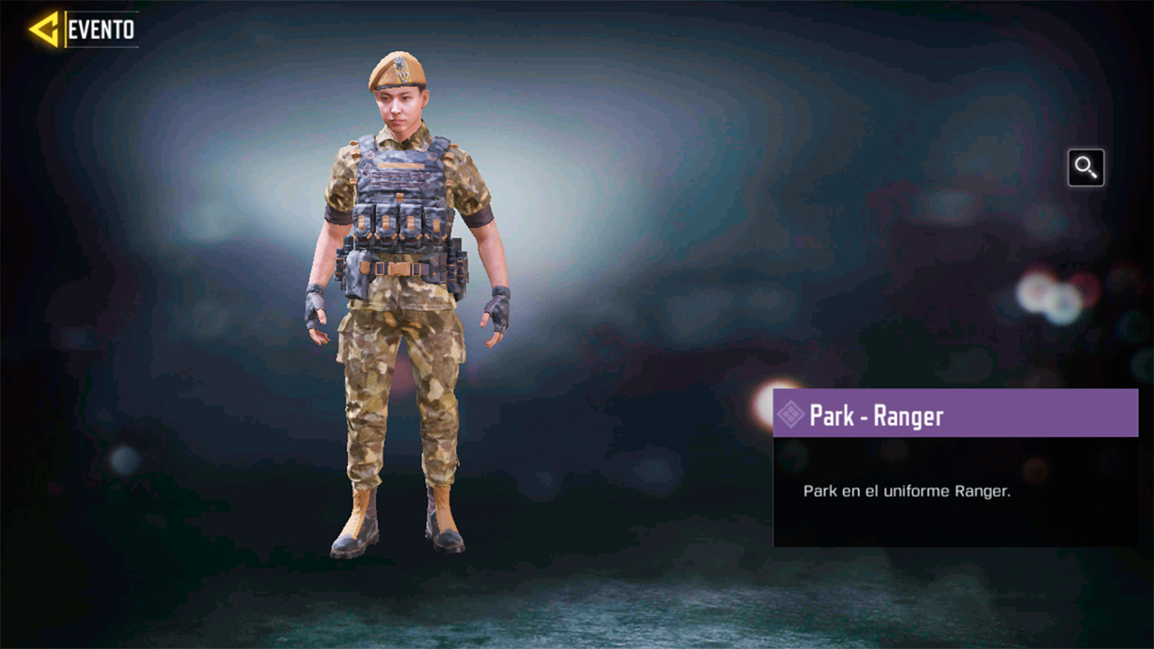 Soldado Park Ranger en Call of Duty Mobile