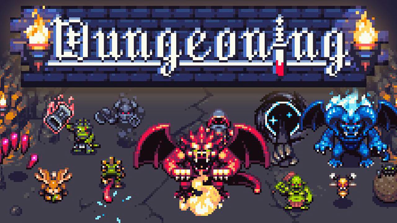 Portada del juego Dungeoning