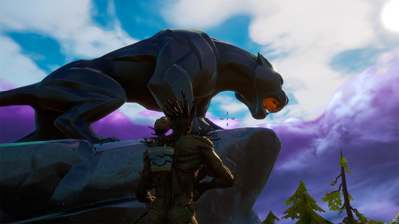 Como completar el desafío Visita el Acecho de Black Panther en Fortnite |  SoloGuias.com