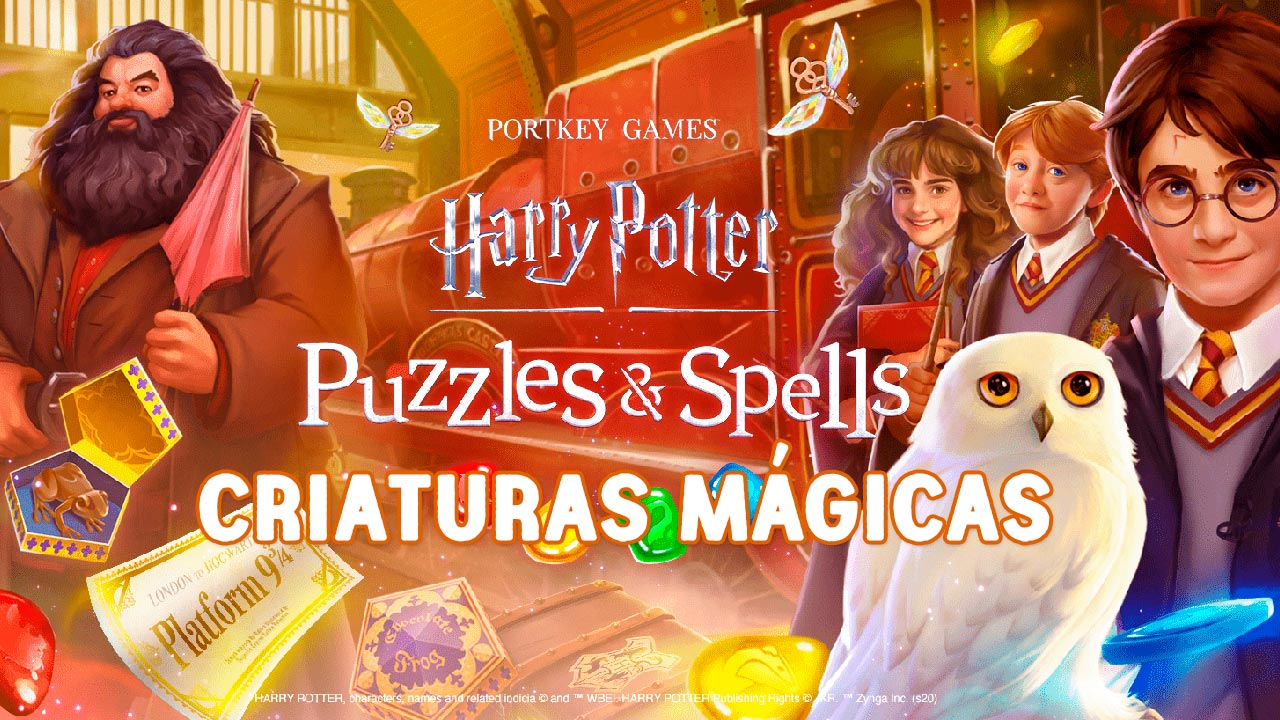 Criaturas Mágicas en Harry Potter: Puzzles Spells