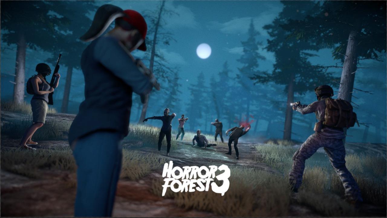 Portada del juego Horror Forest 3