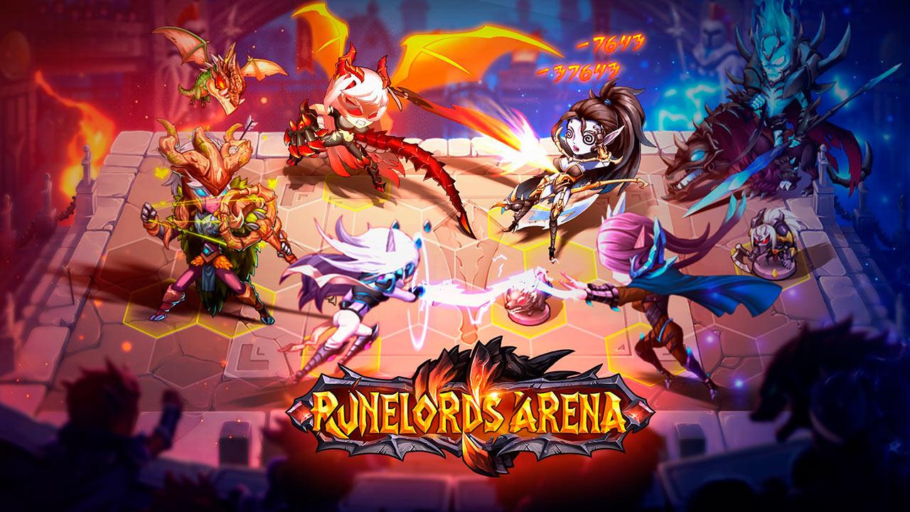 Portada del juego Runelords Arena