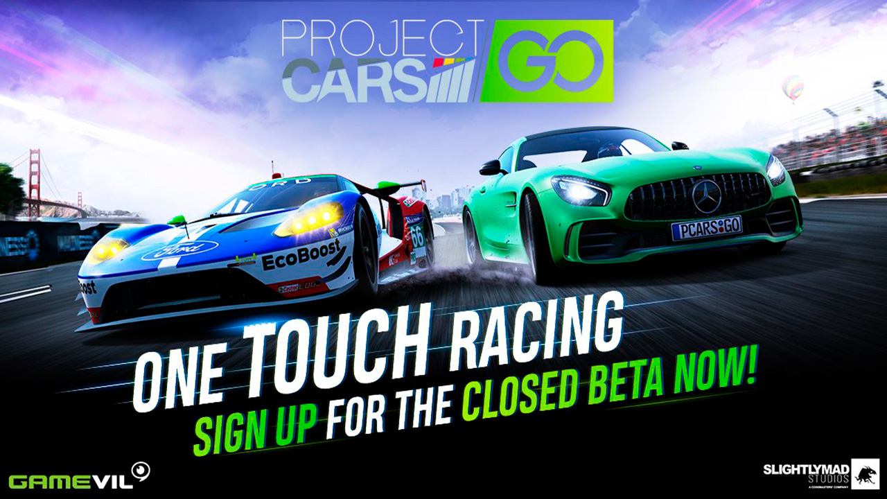 project cars go portada