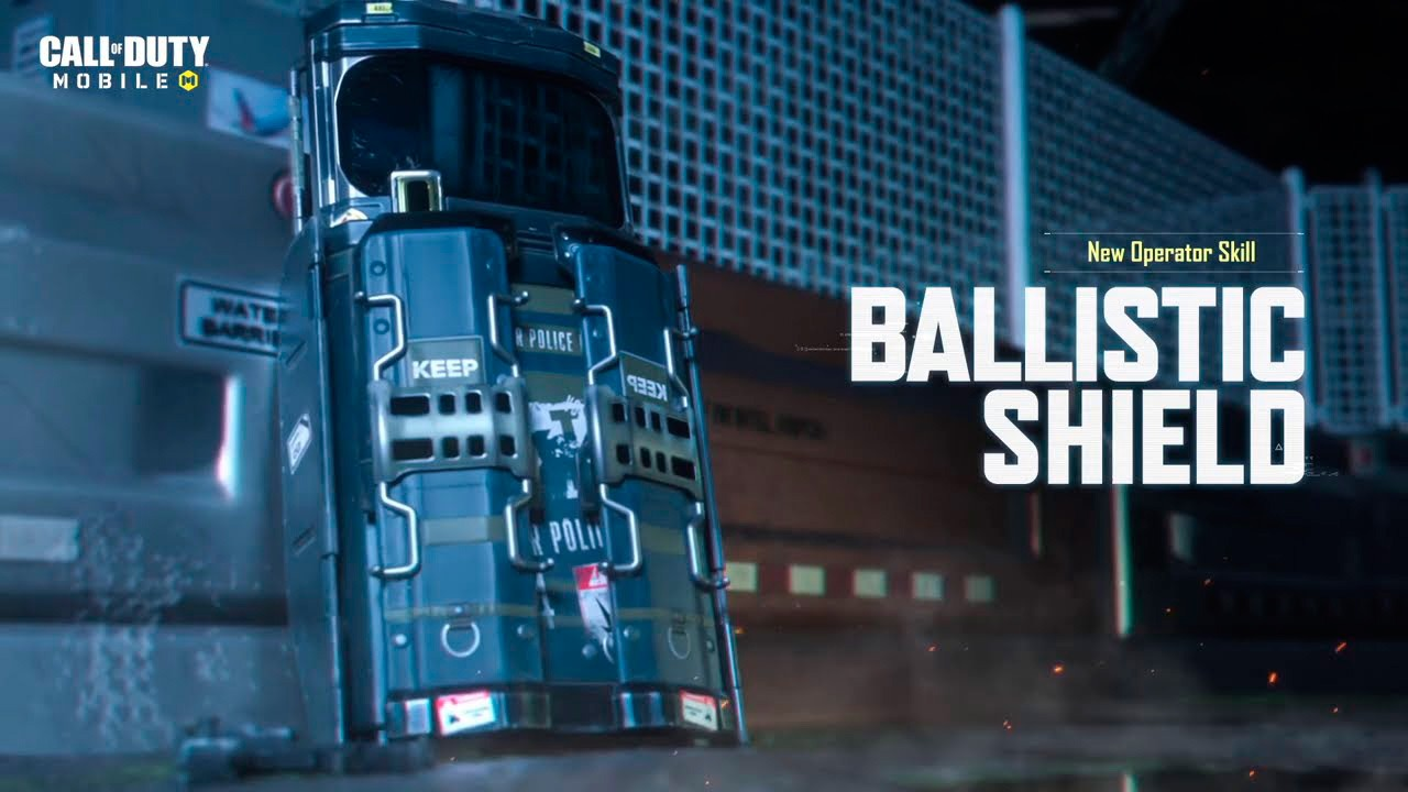 Ballistic Shield en Call of Duty Mobile