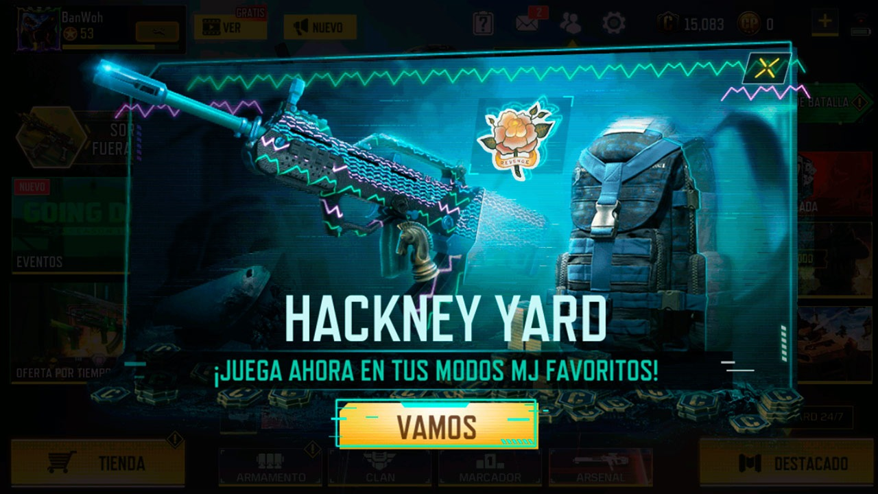 Hackney Yard Call of Duty Mobile