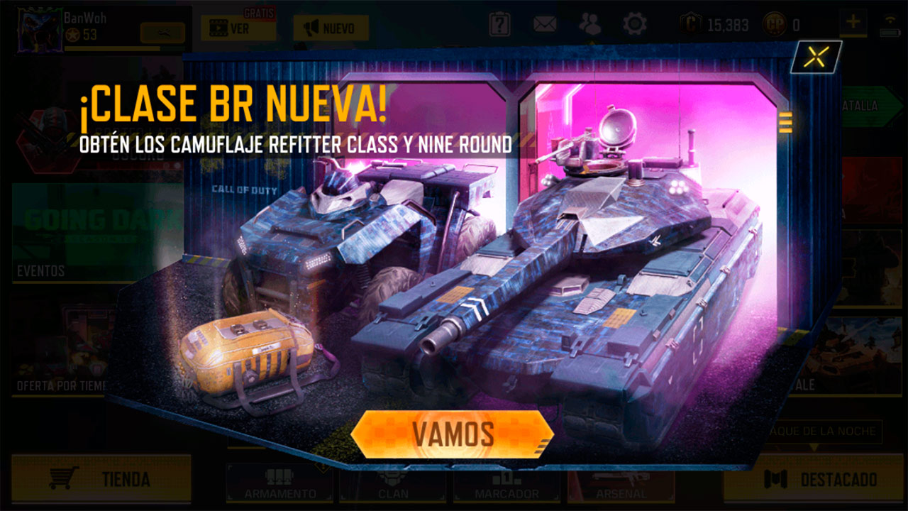 Evento Bestia de agobio en Call of Duty Mobile