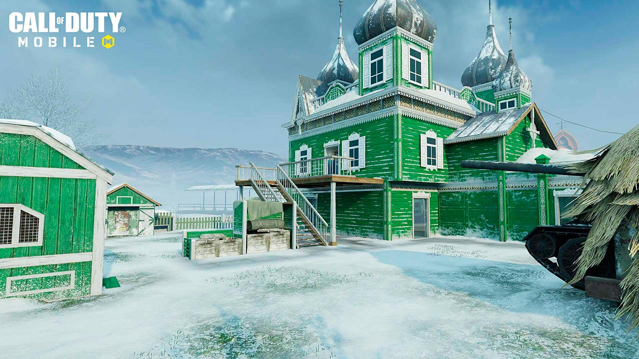 Nuketown Rusia en Call of Duty Mobile