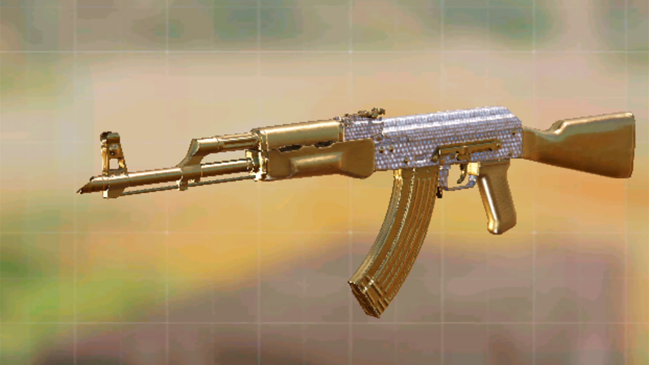 Camuflaje diamante de AK 47 en Call of Duty Mobile