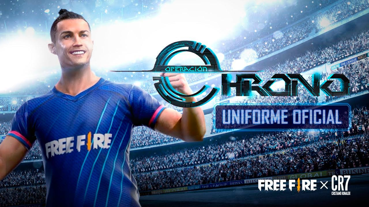 Uniforme de CR7 en Garena Free Fire
