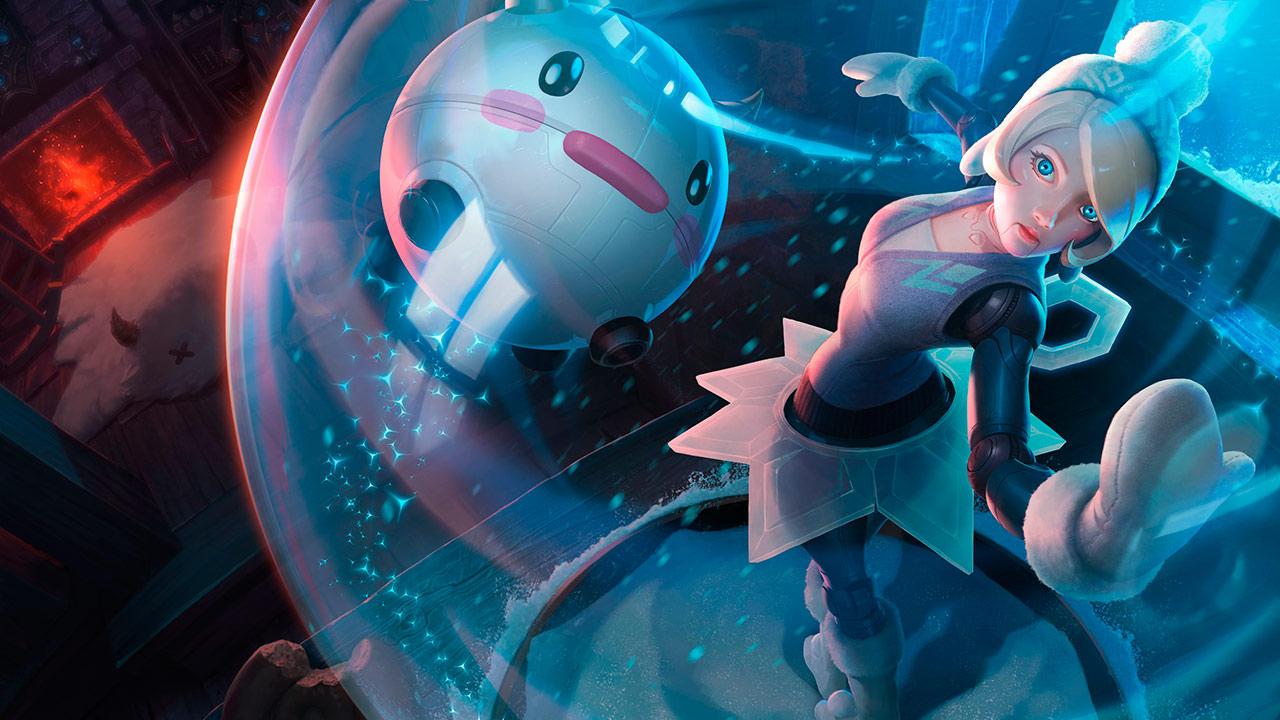 Orianna Maravilla Invernal en League of Legends Wild Rift