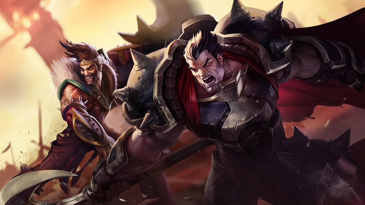 Darius y Draven en Wild Rift