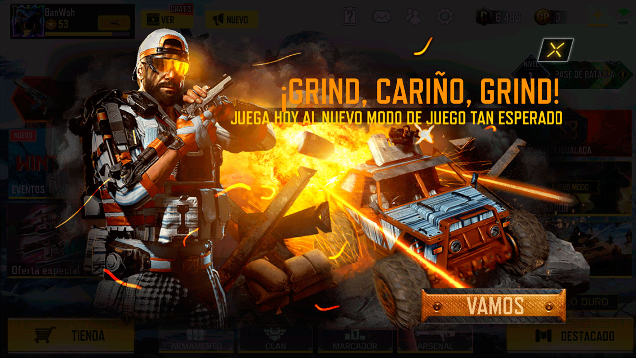 Evento Misión Placas en Call of Duty Mobile