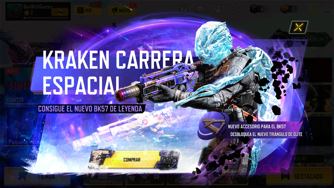 Ruleta Cuenta Regresiva de Call of Duty Mobile