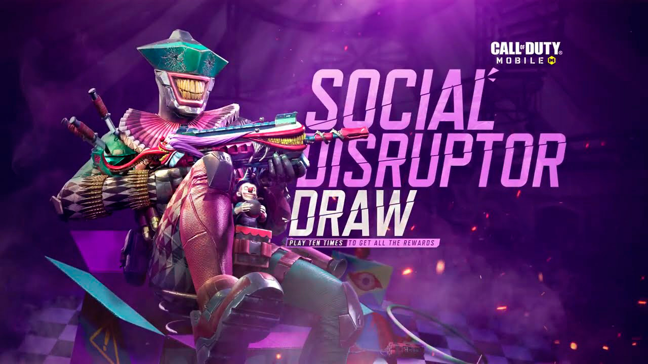 Ruleta Disruptor Social de Call of Duty Mobile