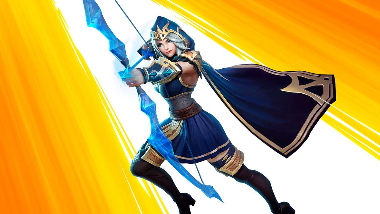 Ashe de League of Legends: Wild Rift
