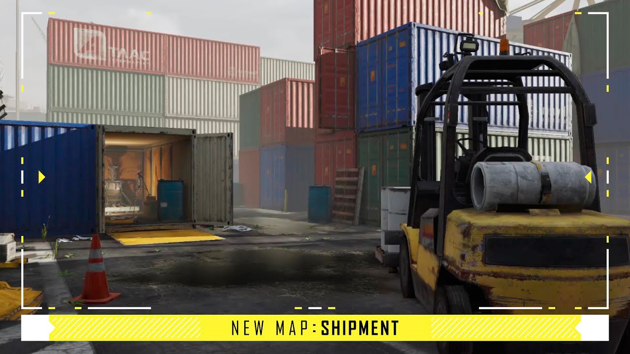 Mapa Shipment en Call of Duty Mobile