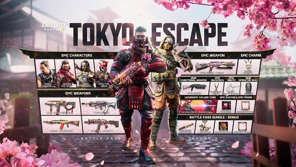 Tokyo Escape en Call of Duty Mobile