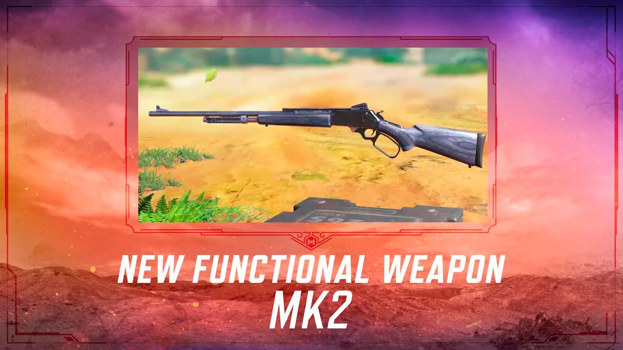 Rifle francotirador MK2 en Call of Duty Mobile