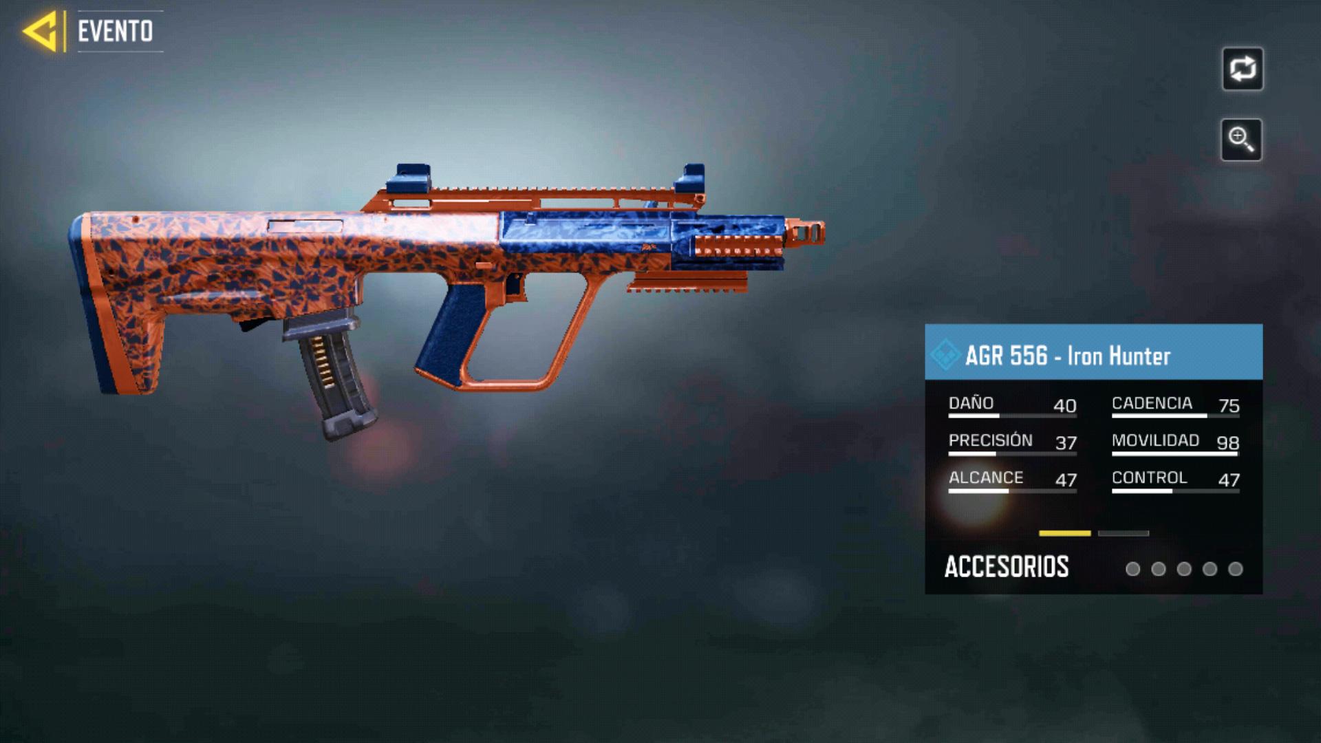 AGR 556 Iron Hunter en Call of Duty Mobile