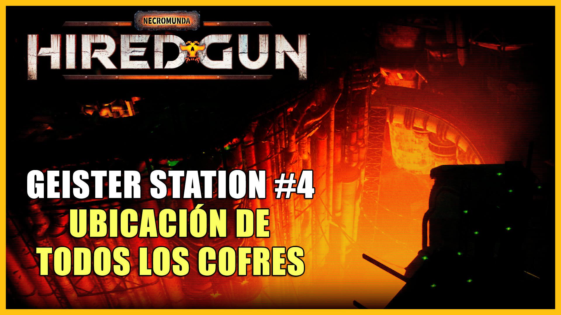 Cofres de Geister Station en Necromunda: Hired Gun