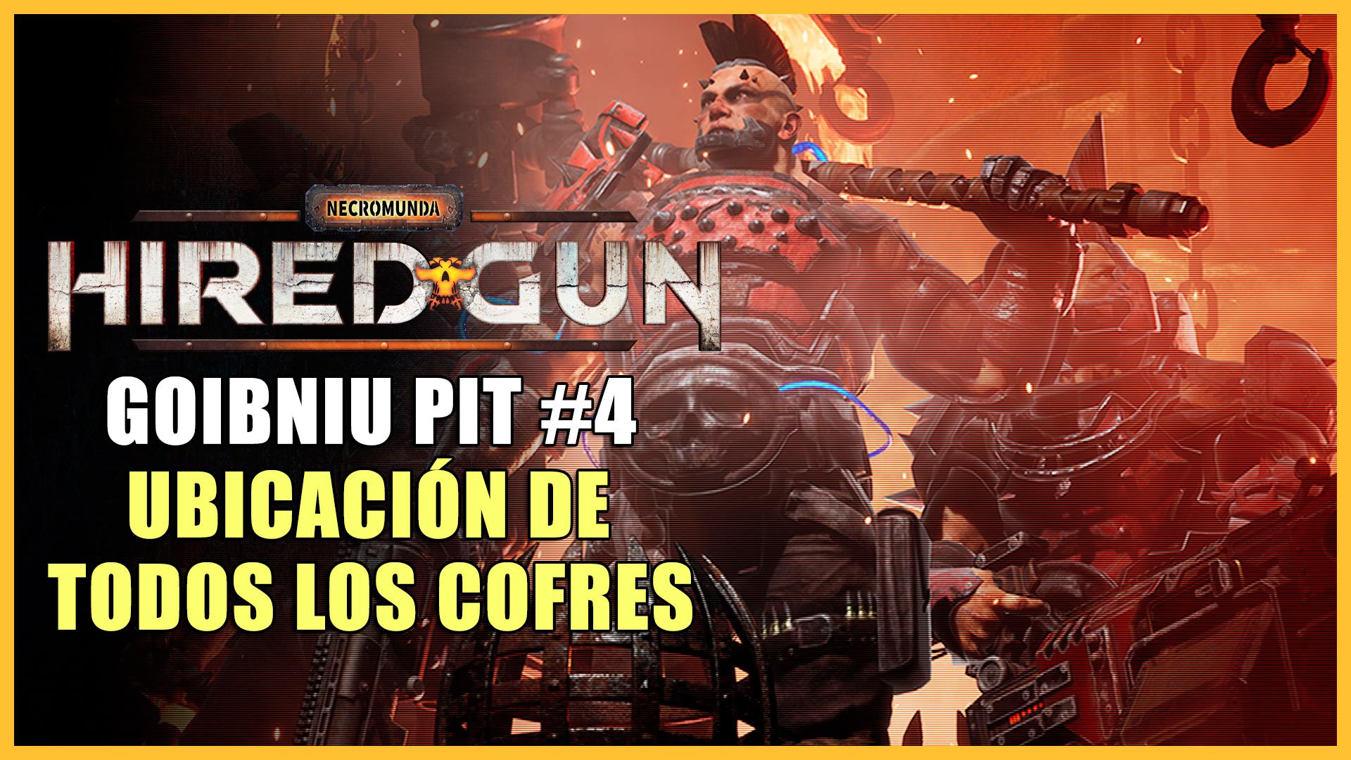 Cofres de Goibniu Pit en Necromunda: Hired Gun