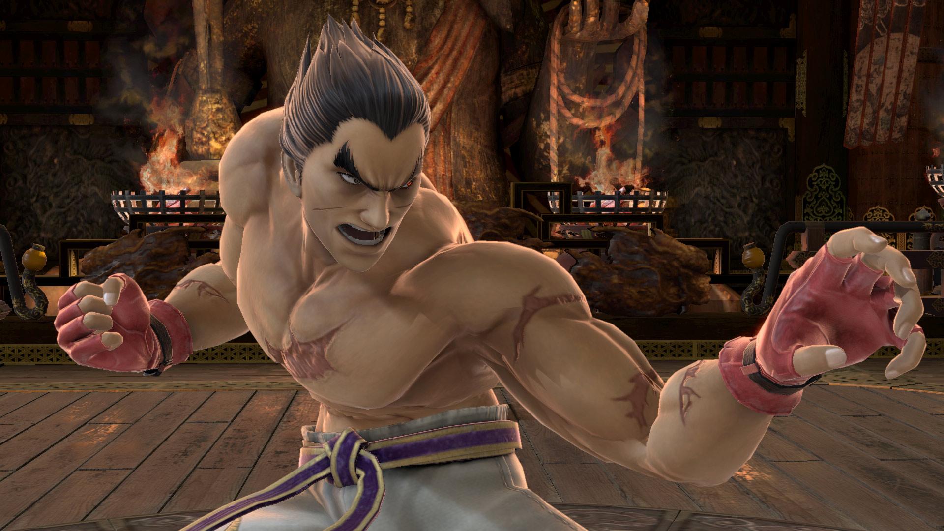 Kazuya Mishima en Super Smash Bros Ultimate