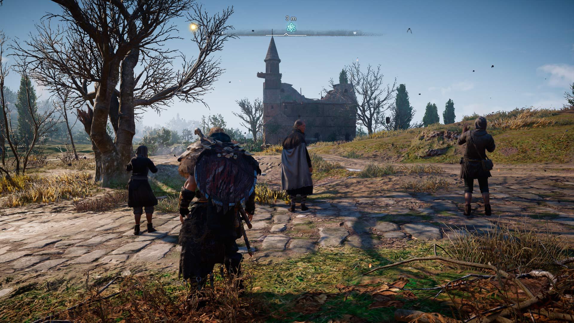 El fantasma de San Germán en Assassin's Creed Valhalla