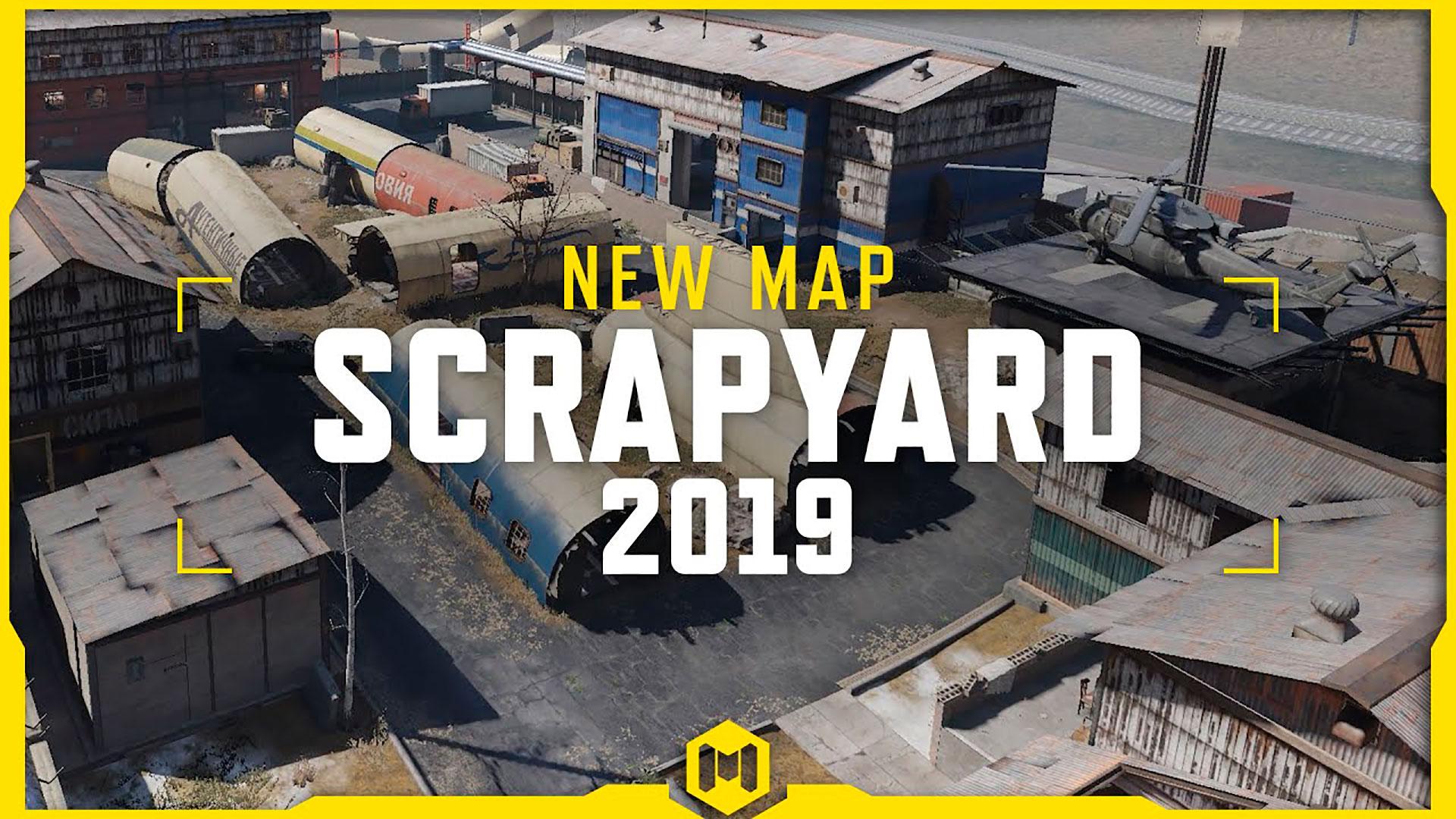Mapa Scrapyard 2019 en Call of Duty Mobile