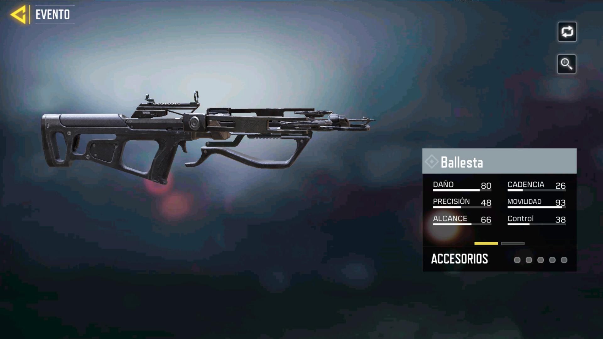 Ballesta en Call of Duty mobile