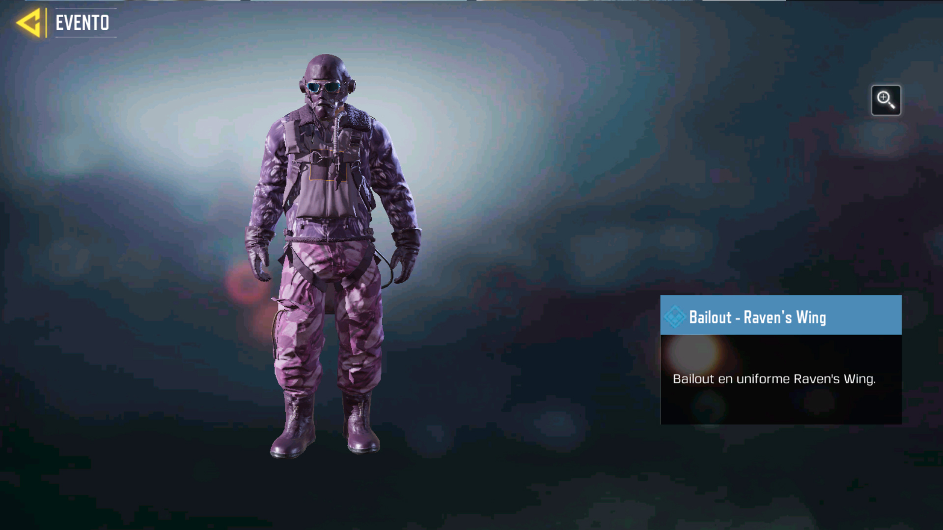 Bailout Raven's Wing en Call of Duty Mobile