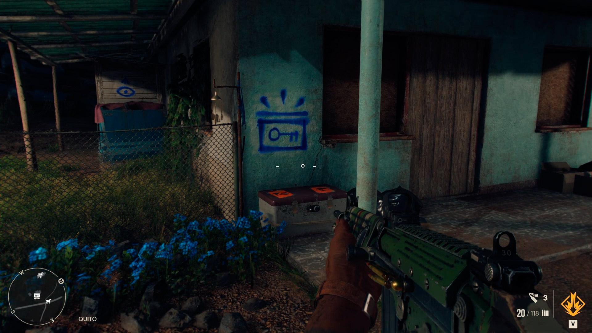 Cofre de criptogramas de Armonía en Far Cry 6